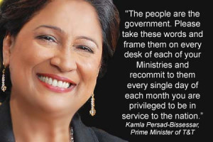 Topic: Kamla Persad-Bissessar - New Prime Minister of Trinidad (Read ...
