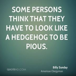 Billy Sunday Quotes