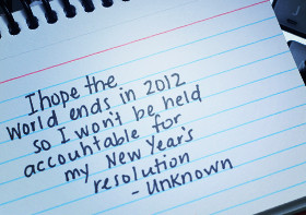 Funny New Years Resolution Quotes & Sayings