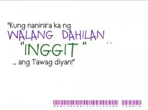 tama #typos #tagalog quotes #pinoy quotes #inggit