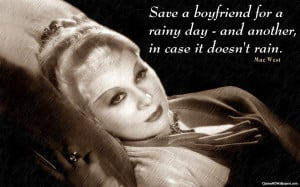mae west quoted