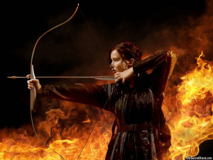 ... 540x405 Jennifer Lawrence in The Hunger Games Movie HD Wallpaper