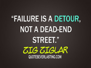 ... failure is a detour not dead end street quotes everlasting wallpaper