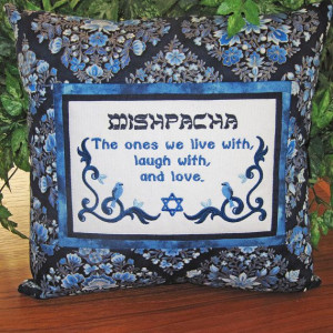 Mishpacha Family #Jewish #Yiddish Quote Accent Pillow Home Decor by ...