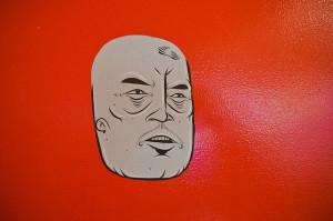 Barry McGee @ Berkeley Art Musuem by ActiveRideShop.com, via Flickr