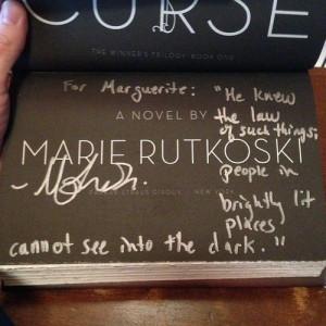 Marie Rutkoski's - The Winner's Curse Best Quote