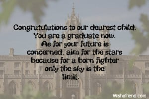 Graduation Quotes For Parents