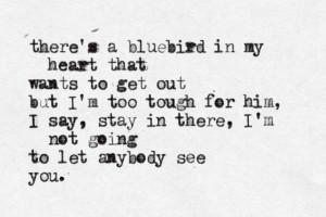 "Bluebird"" by Charles Bukowski by Charles Bukowski #Charles_Bukowski ..."