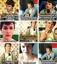 Ansel Elgort Divergent Like. why i adore ansel elgort