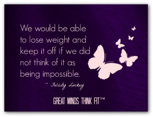 Motivation to Lose Weight Quotes