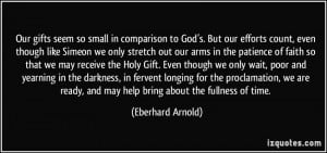 More Eberhard Arnold Quotes