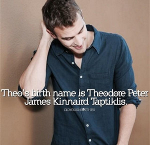 THEO JAMES IS HOT