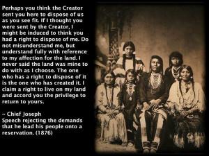 chief joseph quotes | Chief Joseph