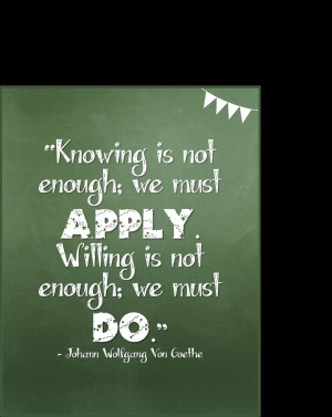 Great Quotes About Learning ~ Everyday is a