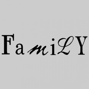Family Wall Quotes Words Sayings Removable Family Wall Decal Lettering ...