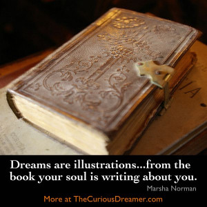 ... writing about you. ~ Marsha Norman #Dreams #DreamMeaning #DreamQuotes