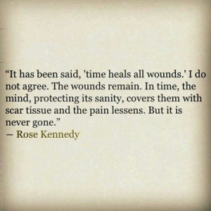 Rose Kennedy quote about loss