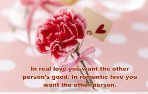 Romantic rose romantic quote