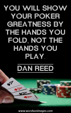 Poker Sayings and Quotes