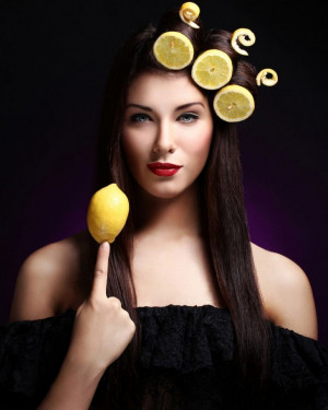 "When life gives you lemons, make lemonade "" says the old optimistic ..."