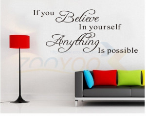 believe-in-yourself-home-decor-creative-quote-wall-decal-zooyoo8037 ...