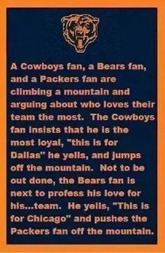 ... fans funny stuff chicago bears football funny chicago bears quotes
