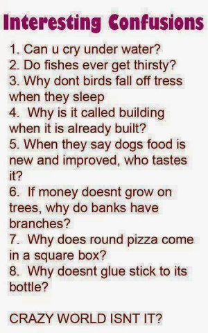 interesting but confusing questions funny images