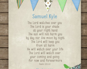 Personalized Christening or First C ommunion Gift for Boy, Boys Bible ...