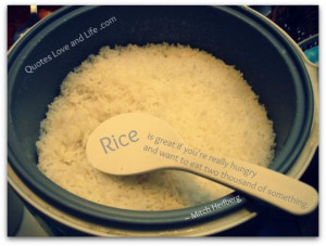 Funny quotes rice mitch hedberg
