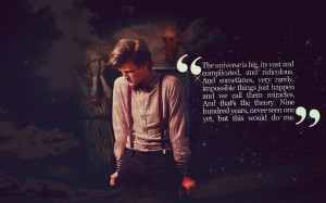 2560x1600 quotes matt smith eleventh doctor doctor who weeping angel ...