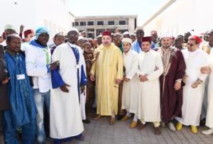 King Mohammed VI Inaugurates International Imam Training Center in ...