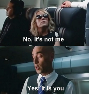 Bridesmaids Movie Quotes On Plane