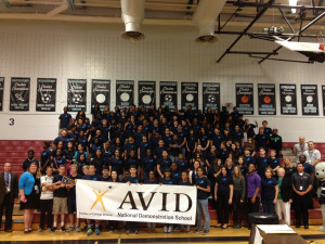 Southwest Middle School Achieves AVID National Demonstration Status