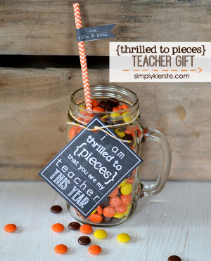 Thrilled to Pieces Teacher Gift | simplykierste.com