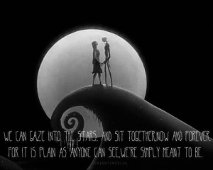 Nightmare Before Christmas Jack And Sally Love Quotes