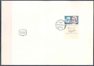 ISRAEL 1960 HENRIETTA SZOLD MAXIMUM FOLDER FIRST DAY CANCELED PRISTINE