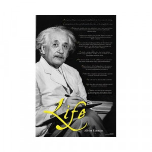 ... Einstein Science Physics Motivational Quotes Poster 23 x 35 inches