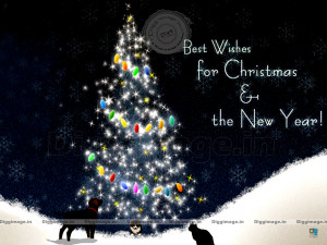 Best Wishes for Christmas & The New Year..! 2012 greetings with a nice ...