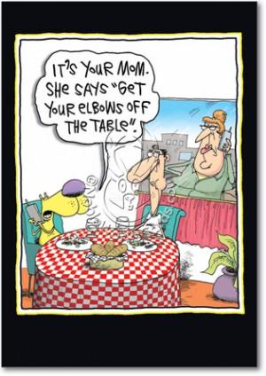 nobleworkscards.comSt Olivia Saint Mothers Day Funny Card
