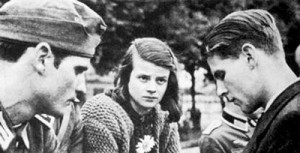 18th February 1943 - The White Rose group are arrested in Germany