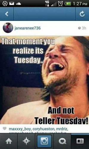 The Moment You Realize...