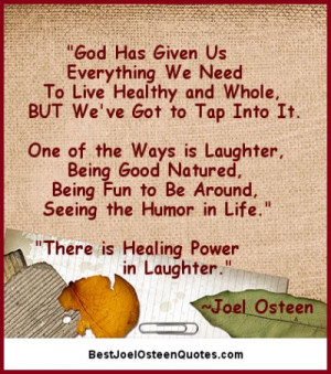 The Healing Power in Laughter