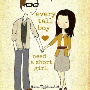 cute, quotes, sayings, love, tall boy, short girl | Inspirational ...