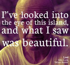 ... island, and what I saw was beautiful.