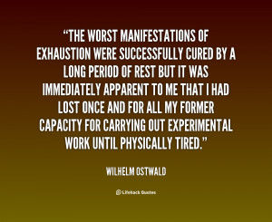 Quotes About Exhaustion