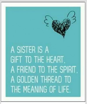 miss both of my sisters, Lynda since 1986 and Laura since 2000