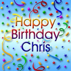 Happy Birthday Chris!!