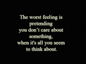 Must be the worst feeling.....