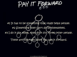 PAY IT FORWARD [2000]
