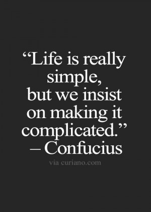 Confucius Life Quotes